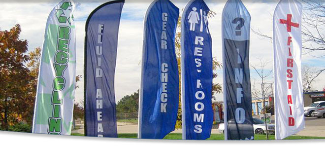BANNER STANDS - Vinyl banners stands
